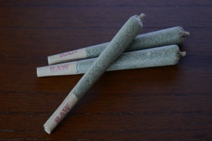 joints made from Pre Rolled Cones on a table