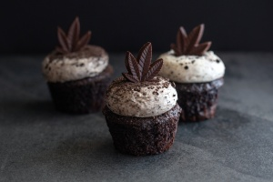 cannabis edibles that are chocolate cupcakes